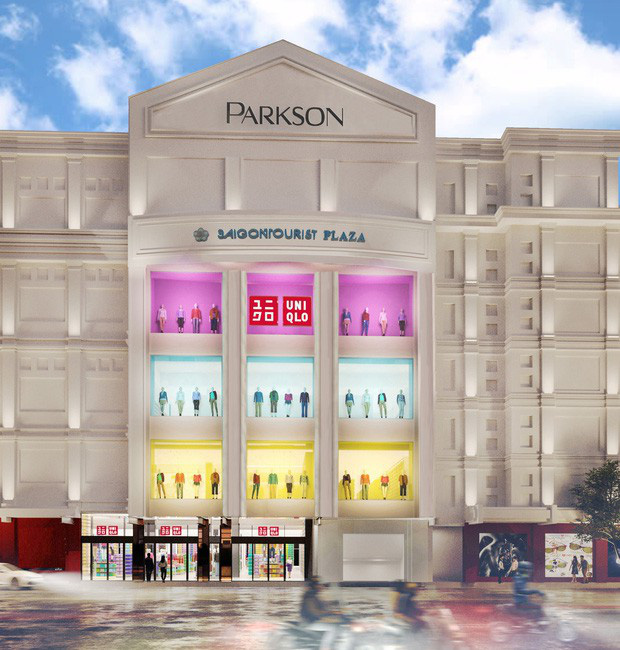 UNIQLO'S FIRST FLAGSHIP STORE IN VIETNAM OPENED AT PARKSON  SAIGON TOURIST PLAZA
